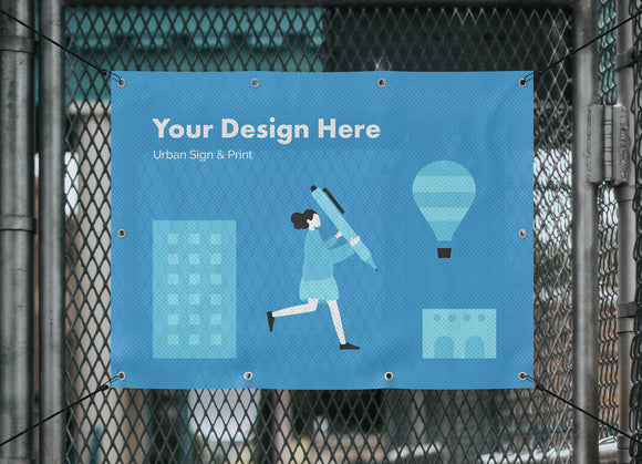 Mesh/ Perforated Banners - Urban Sign and Print