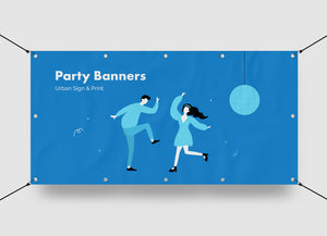 San Diego Party Banners Printing