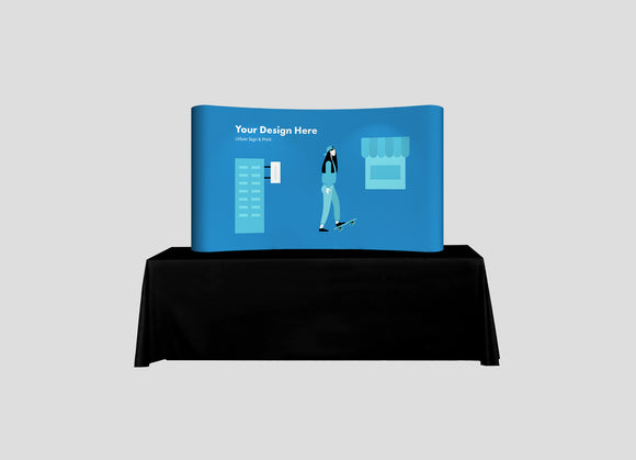 Tabletop Pop Up Display - Urban Sign and Print