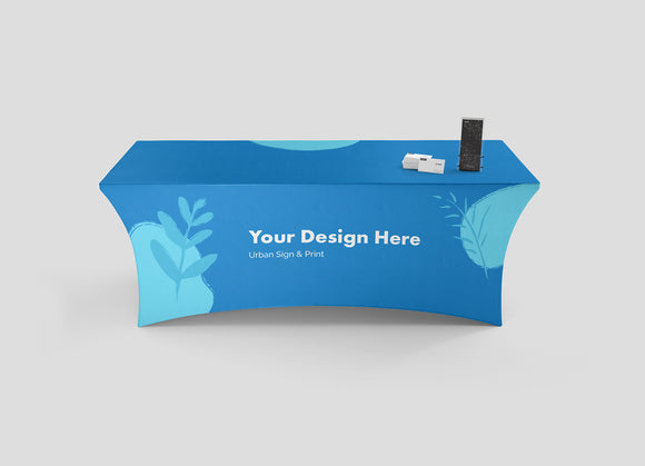 San Diego Stretch Table Throws - Urban Sign and Print
