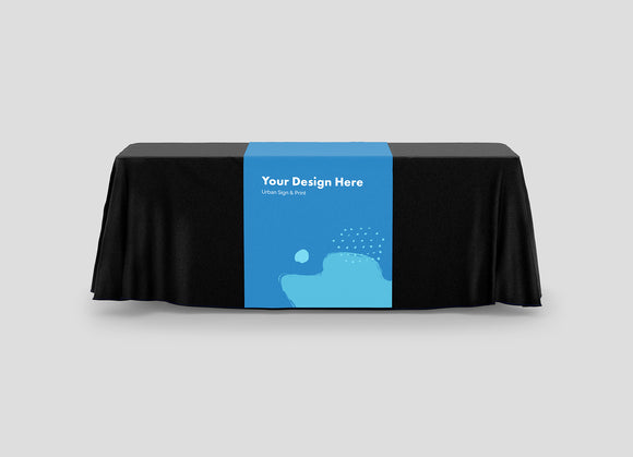 San Diego Table Runner Printing- Urban Sign and Print