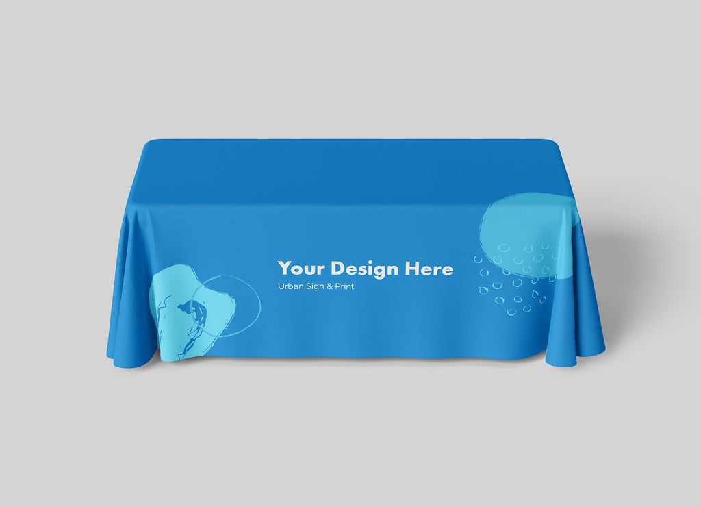 San Diego Full Color Table Throw Printing - Urban Sign and Print