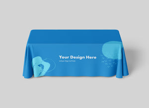 San Diego Full Color Table Throws Printing