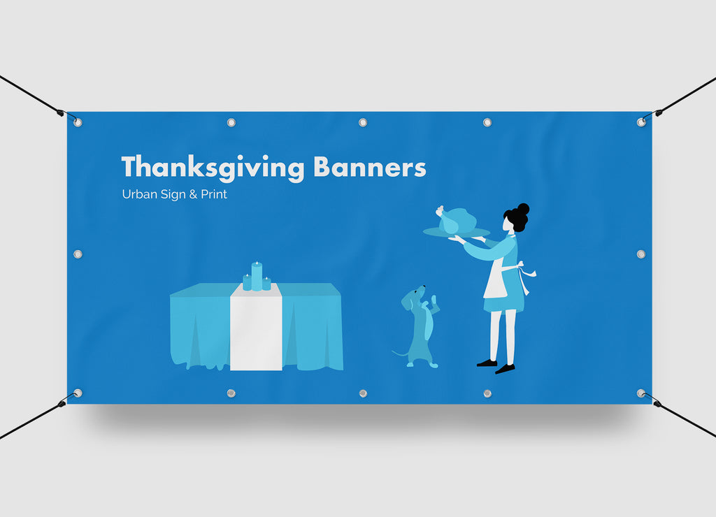 Thanksgiving banners San Diego