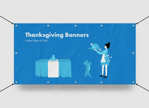 San Diego Thanksgiving Banners Printing