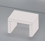 Gaby Seating/Coffee Table California White