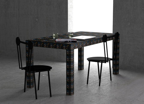 Hitan Table Black Rainbow