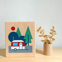 Prints on wood