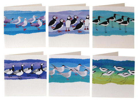 RSPB Joanne Wishart Designs Greetings Card Designs