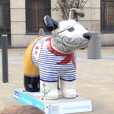 Joanne wishart north east artist great north snow dog