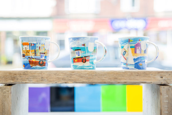 Mothers day gift joanne wishart gallery dunoon ceramic mugs fine bone china mugs north east gifts