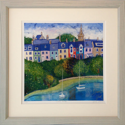 Alnmouth Northumberland painting loraine terrace
