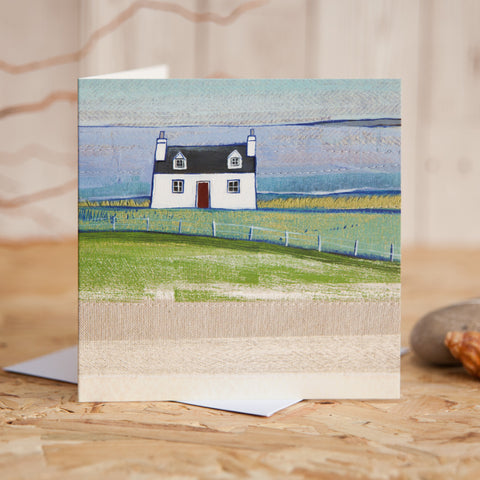 Scottish Greetings Card Wholesale Greetings Card scottish blackhouse art card fine art card