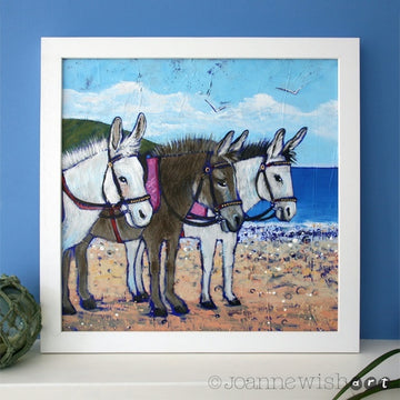 Beach Donkeys - Original Painting