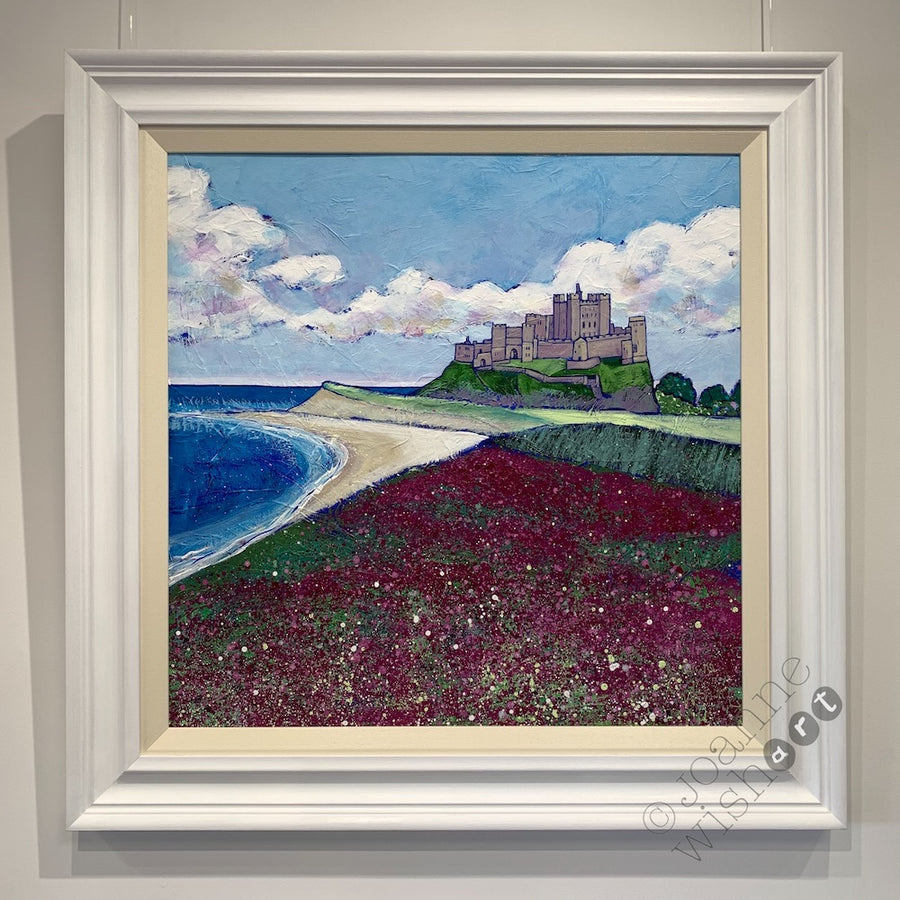 Bamburgh Wildflowers - Original Painting
