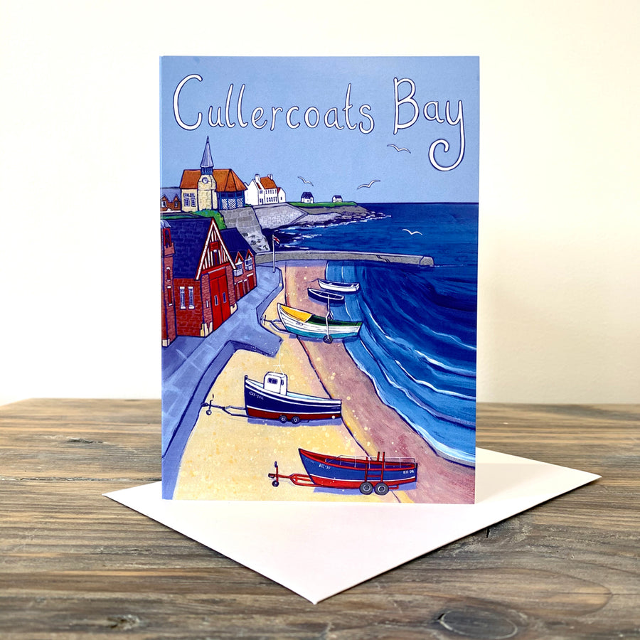 Cullercoats Bay Greetings Card