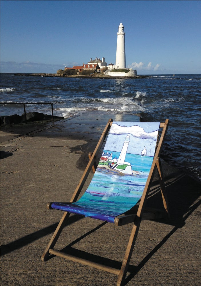 St Marys Lighthouse Deckchair