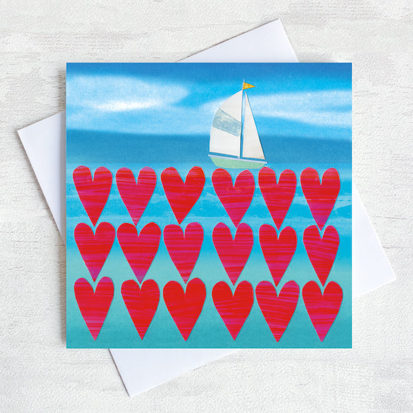 Sea of Love Greetings Card Pack