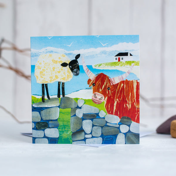 Highland Friends - Card