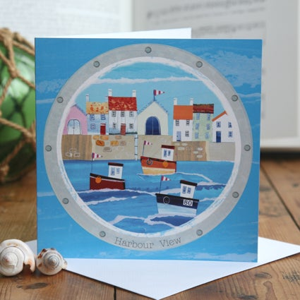 Harbour View Greetings Card