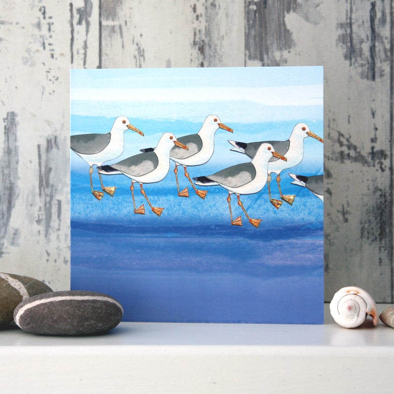 Herring Gull - Card