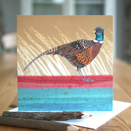 Pheasant Greetings Card