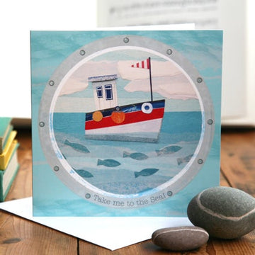 Take me to the Sea! Greetings Card
