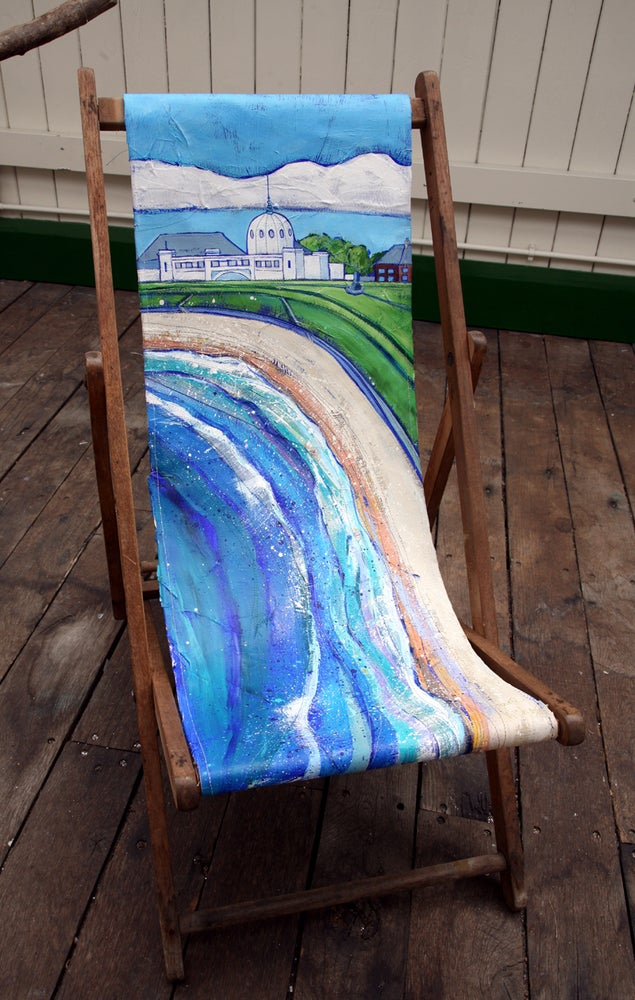 Whitley Bay Deckchair
