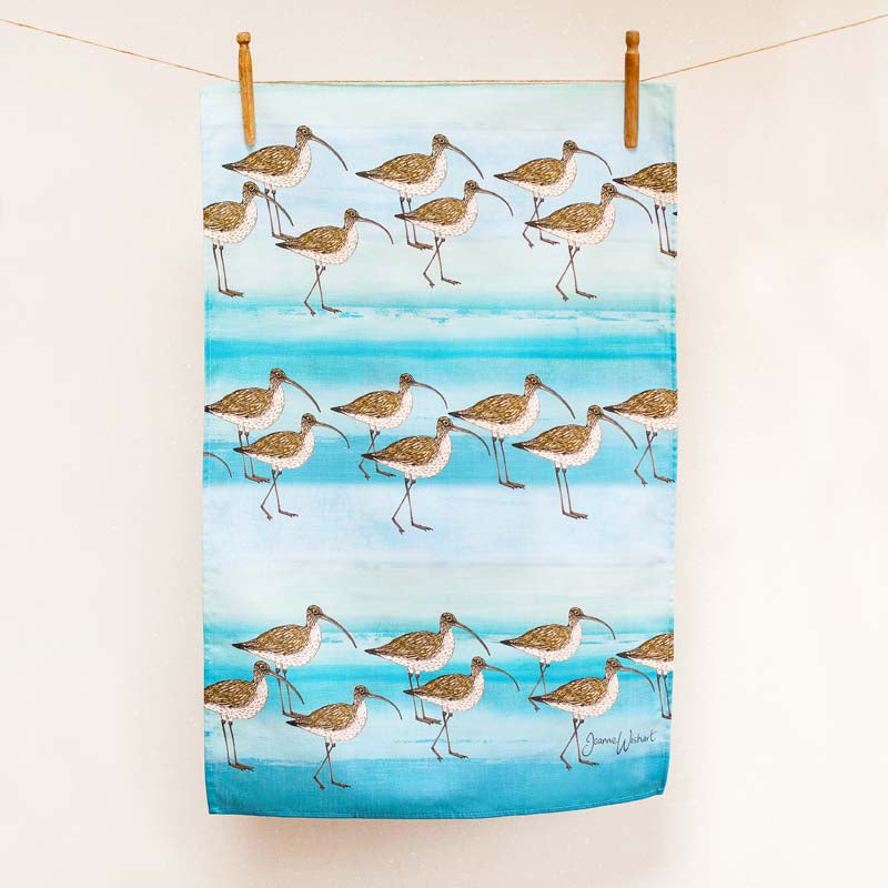 Curlew Tea Towel