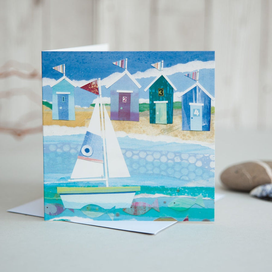Sailing to Shore Card