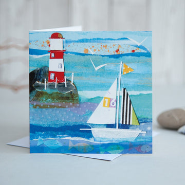 Sailing Boat No. 16 Card