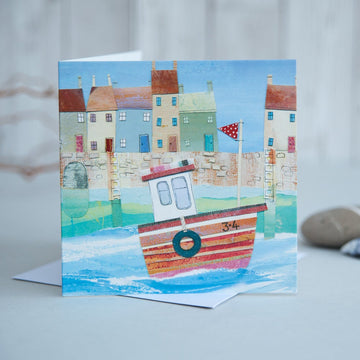Fishing boat 3.4 Card