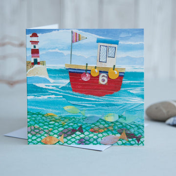Happy Fishing Card