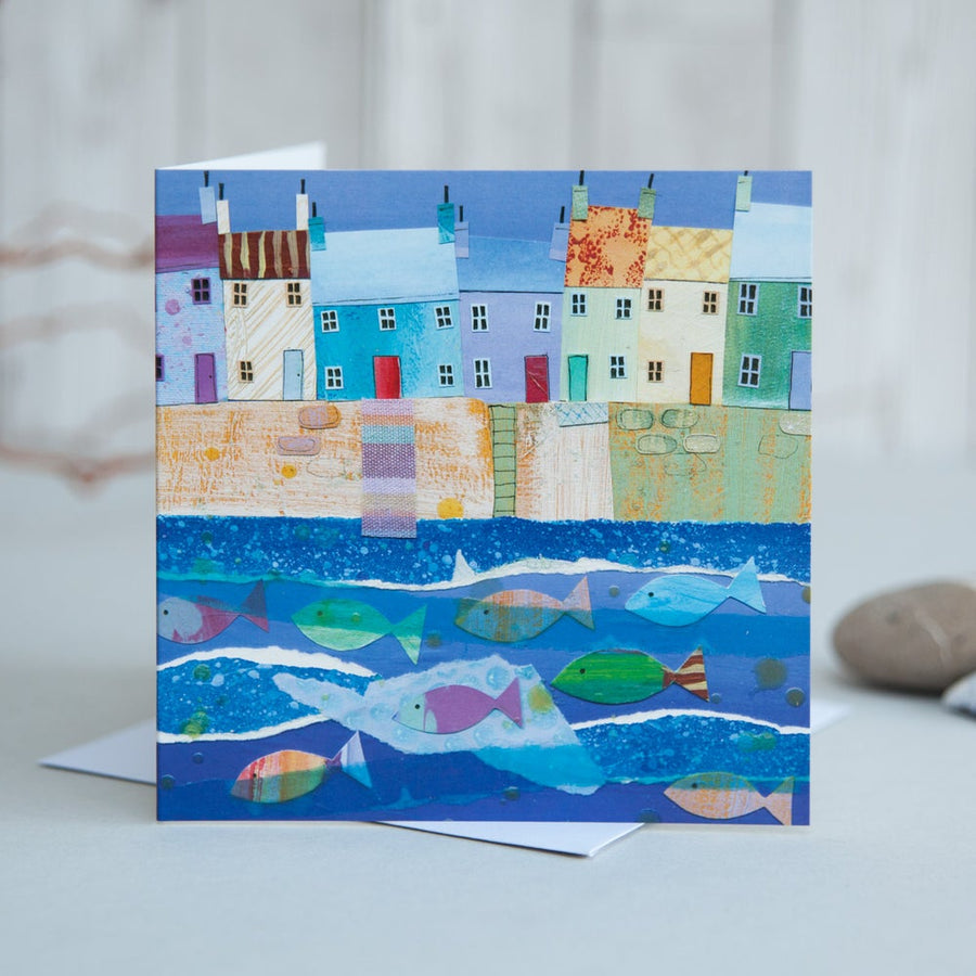 Harbour Houses - Card