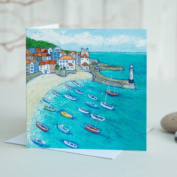 Turquoise Waters Card