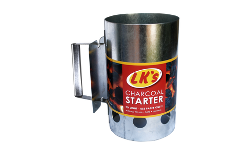 Charcoal Starter (Galv.)(M/S)