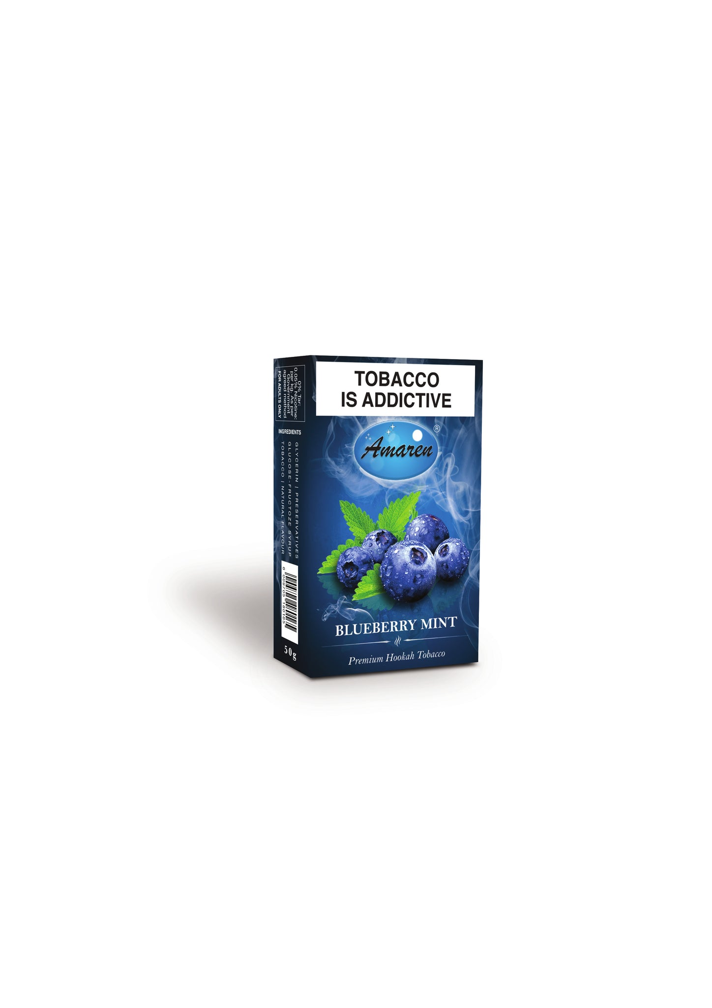 Amaren Hookah Tobacco - Blueberry Mint