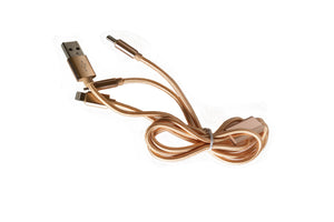 Hira 3 in 1 Nylon USB cable