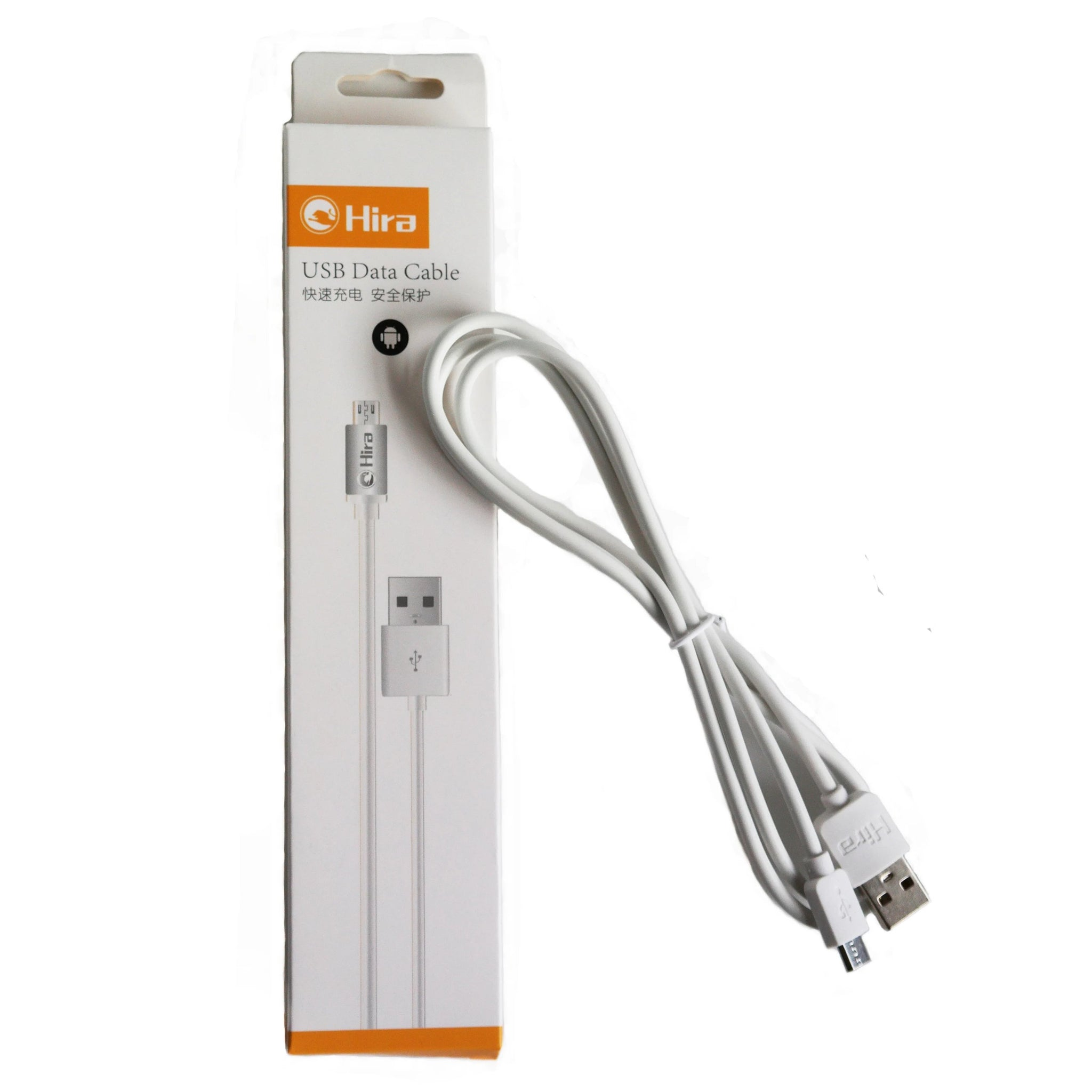 Hira  Android Rubber Data & USB cable