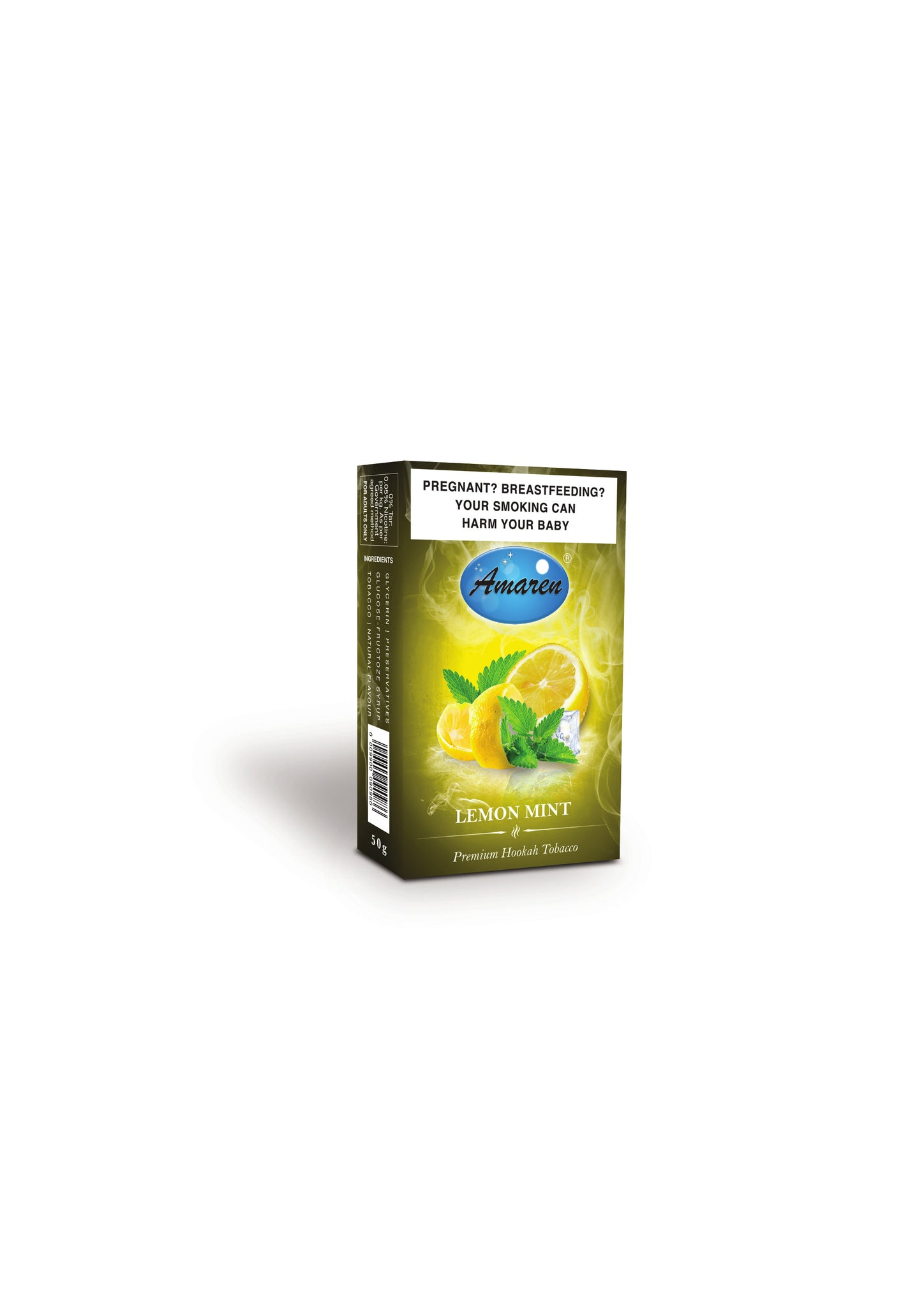 Amaren Hookah Tobacco - Lemon Mint