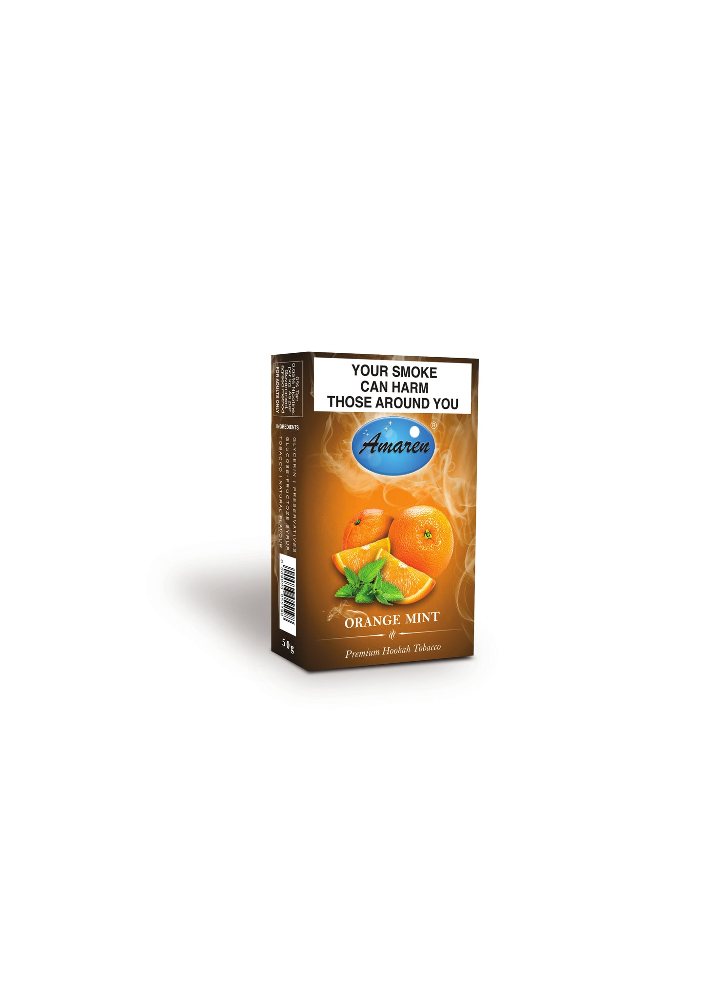 Amaren Hookah Tobacco - Orange Mint