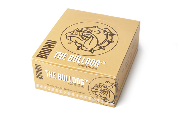 The Bulldog Paper - Brown King Size Slim Unbleached 1x50