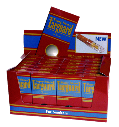 Targuard - disposable cigarette filter