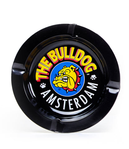 The Bulldog Ashtray - Tin Ashtray Black