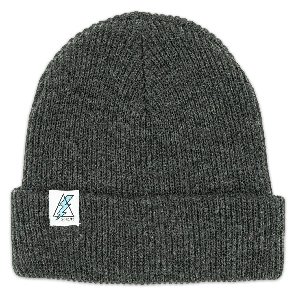 CUFFED BEANIE | HEATHER CHARCOAL
