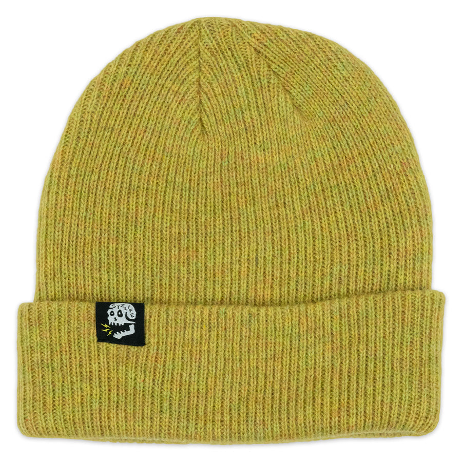 MERINO BEANIE | HEATHER MUSTARD
