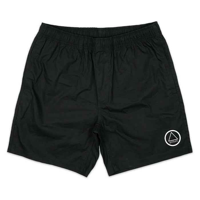 BLACK EVERYDAY SHORTS