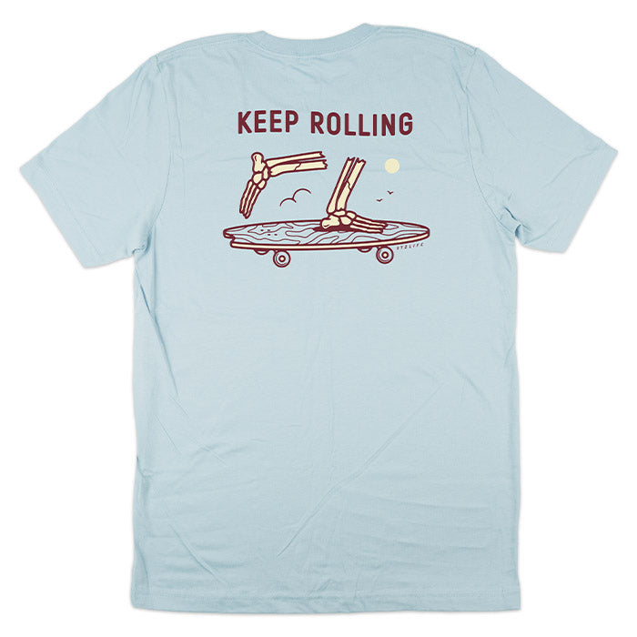 KEEP ROLLING | LIGHT BLUE
