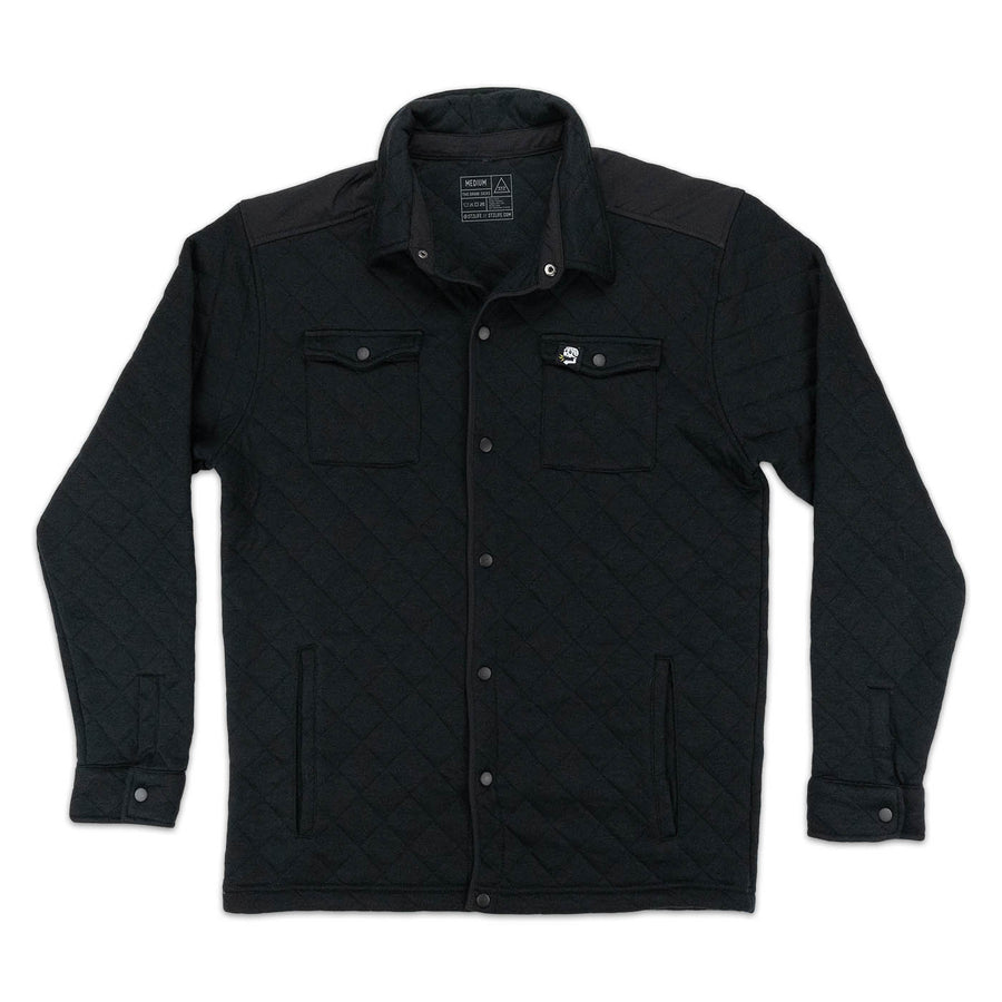 QUILTED JACKET | BLACK