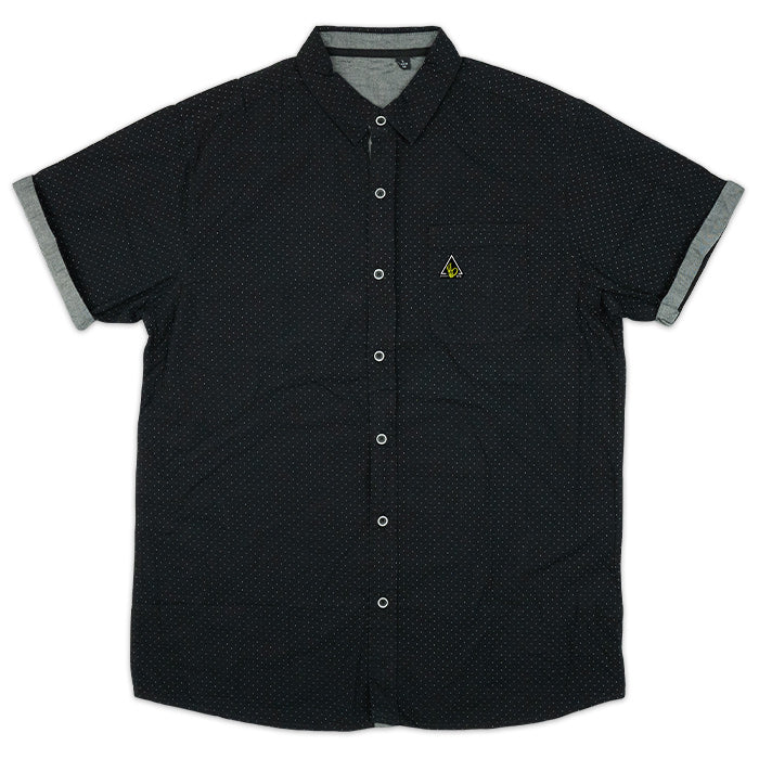 POPLIN BUTTON UP | BLACK
